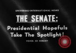 Image of Presidential campaign Washington DC USA, 1960, second 2 stock footage video 65675044278