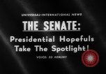 Image of Presidential campaign Washington DC USA, 1960, second 3 stock footage video 65675044278