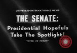Image of Presidential campaign Washington DC USA, 1960, second 5 stock footage video 65675044278