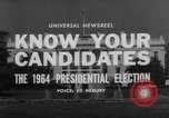 Image of Presidential campaign Washington DC USA, 1964, second 6 stock footage video 65675044283