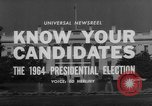 Image of Presidential campaign Washington DC USA, 1964, second 7 stock footage video 65675044283