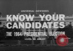 Image of Presidential campaign Washington DC USA, 1964, second 9 stock footage video 65675044283