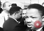 Image of Martin Luther King Jr on Civil Rights march Selma Alabama USA, 1965, second 11 stock footage video 65675044289
