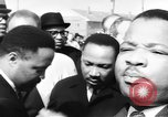 Image of Martin Luther King Jr on Civil Rights march Selma Alabama USA, 1965, second 12 stock footage video 65675044289