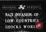 Image of Nazi Invasion Europe, 1940, second 1 stock footage video 65675044328