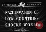 Image of Nazi Invasion Europe, 1940, second 7 stock footage video 65675044328