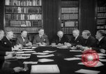 Image of Senate Foreign Affairs Committee Washington DC USA, 1940, second 1 stock footage video 65675044341