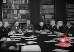 Image of Senate Foreign Affairs Committee Washington DC USA, 1940, second 11 stock footage video 65675044341
