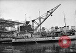 Image of shipbuilding by war production workers New York United States USA, 1940, second 4 stock footage video 65675044343