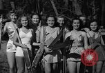 Image of roller skiing Del Monte California USA, 1940, second 4 stock footage video 65675044348