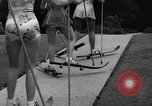 Image of roller skiing Del Monte California USA, 1940, second 9 stock footage video 65675044348