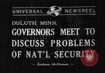 Image of Governor Duluth Minnesota USA, 1940, second 5 stock footage video 65675044351