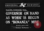 Image of Governor Eurith Rivers Dahlonega Georgia USA, 1940, second 3 stock footage video 65675044352