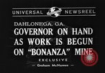 Image of Governor Eurith Rivers Dahlonega Georgia USA, 1940, second 5 stock footage video 65675044352