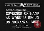 Image of Governor Eurith Rivers Dahlonega Georgia USA, 1940, second 7 stock footage video 65675044352