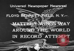 Image of Jimmie Mattern New York United States USA, 1933, second 4 stock footage video 65675044354