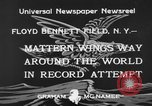 Image of Jimmie Mattern New York United States USA, 1933, second 6 stock footage video 65675044354