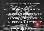 Image of Jimmie Mattern New York United States USA, 1933, second 10 stock footage video 65675044354