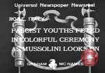 Image of Benito Mussolini Rome Italy, 1933, second 5 stock footage video 65675044360