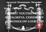 Image of Benito Mussolini Rome Italy, 1933, second 6 stock footage video 65675044360