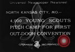 Image of young American scouts North Kansas City Missouri USA, 1933, second 1 stock footage video 65675044363