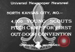 Image of young American scouts North Kansas City Missouri USA, 1933, second 2 stock footage video 65675044363