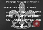 Image of young American scouts North Kansas City Missouri USA, 1933, second 3 stock footage video 65675044363