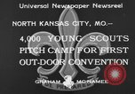 Image of young American scouts North Kansas City Missouri USA, 1933, second 4 stock footage video 65675044363