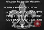 Image of young American scouts North Kansas City Missouri USA, 1933, second 5 stock footage video 65675044363