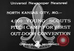 Image of young American scouts North Kansas City Missouri USA, 1933, second 6 stock footage video 65675044363