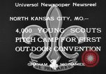 Image of young American scouts North Kansas City Missouri USA, 1933, second 7 stock footage video 65675044363
