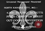 Image of young American scouts North Kansas City Missouri USA, 1933, second 8 stock footage video 65675044363