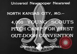 Image of young American scouts North Kansas City Missouri USA, 1933, second 9 stock footage video 65675044363