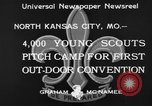 Image of young American scouts North Kansas City Missouri USA, 1933, second 10 stock footage video 65675044363