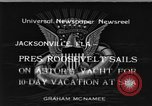 Image of Franklin D Roosevelt Jacksonville Florida USA, 1934, second 1 stock footage video 65675044365