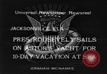 Image of Franklin D Roosevelt Jacksonville Florida USA, 1934, second 12 stock footage video 65675044365