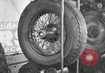 Image of anti-skid tread tire Paris France, 1934, second 2 stock footage video 65675044371