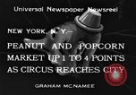 Image of Circus New York City USA, 1934, second 1 stock footage video 65675044372