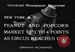 Image of Circus New York City USA, 1934, second 3 stock footage video 65675044372