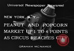 Image of Circus New York City USA, 1934, second 4 stock footage video 65675044372