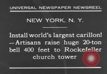 Image of 20 ton bell New York City USA, 1930, second 10 stock footage video 65675044383