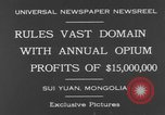 Image of General Ma Fu Hsiang Sui Yuan China, 1930, second 9 stock footage video 65675044384
