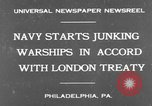 Image of Cruiser USS St Louis C-20 Philadelphia Pennsylvania USA, 1930, second 2 stock footage video 65675044385