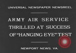 Image of United States Army Air Service Newport News Virginia USA, 1931, second 5 stock footage video 65675044388
