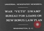 Image of war veterans United States USA, 1931, second 2 stock footage video 65675044390