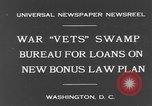 Image of war veterans United States USA, 1931, second 3 stock footage video 65675044390
