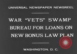 Image of war veterans United States USA, 1931, second 4 stock footage video 65675044390