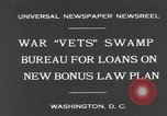 Image of war veterans United States USA, 1931, second 7 stock footage video 65675044390