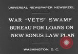 Image of war veterans United States USA, 1931, second 8 stock footage video 65675044390