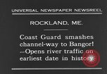 Image of United States Coast Guard ship Rockland Maine USA, 1931, second 4 stock footage video 65675044391